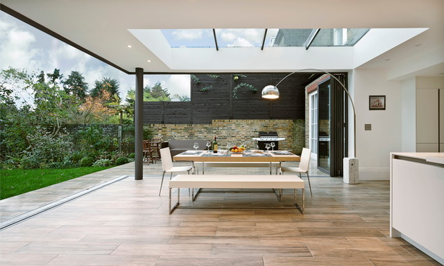 Woodville gardens contemporary dining room london for Concept 8 architects