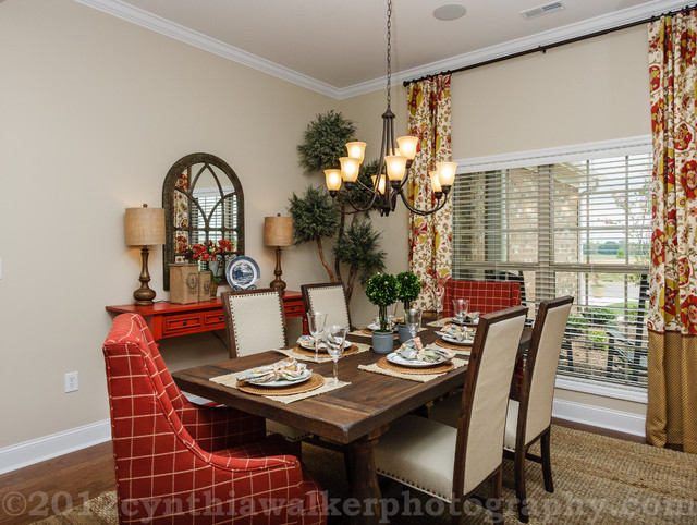 Work examples traditional dining room other metro for Dining room design examples