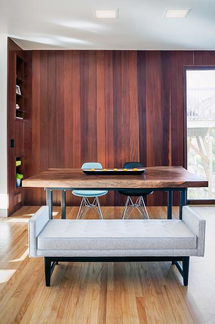 Wurster House Addition & Renovation midcentury-dining-room