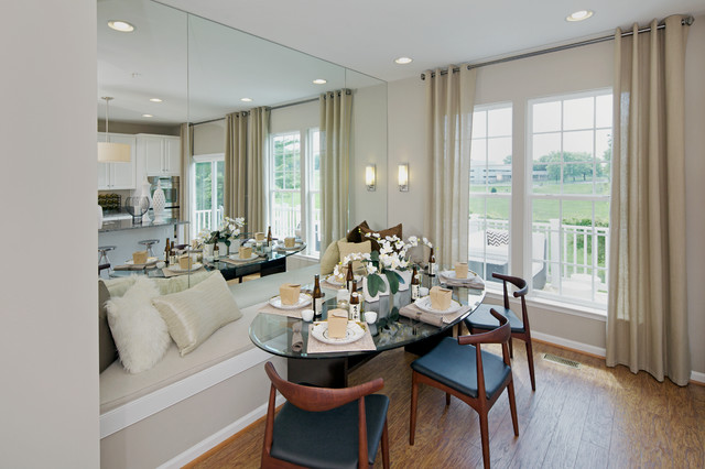 Wyeth Contemporary Dining Room Dc Metro By Carlyn
