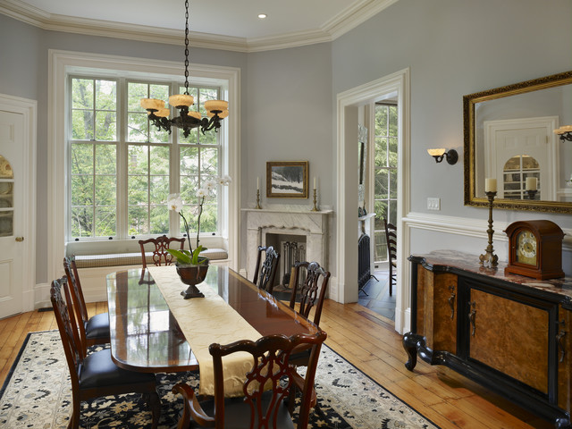 Wyndmoor Residence Dining Room Traditional