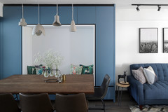 Houzz Tour: A Late 1970s Flat is Opened Up With a Fresh Palette