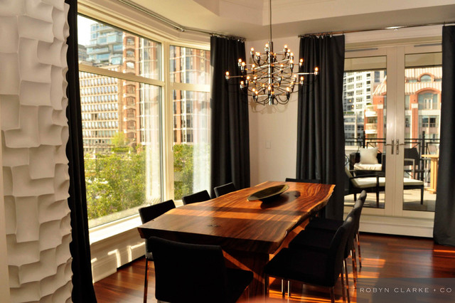 Yorkville Condo II contemporary dining room