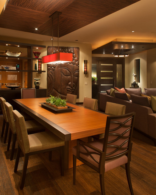 Design For Living Room With Open Kitchen Houzz Home Design: Zen Paradise