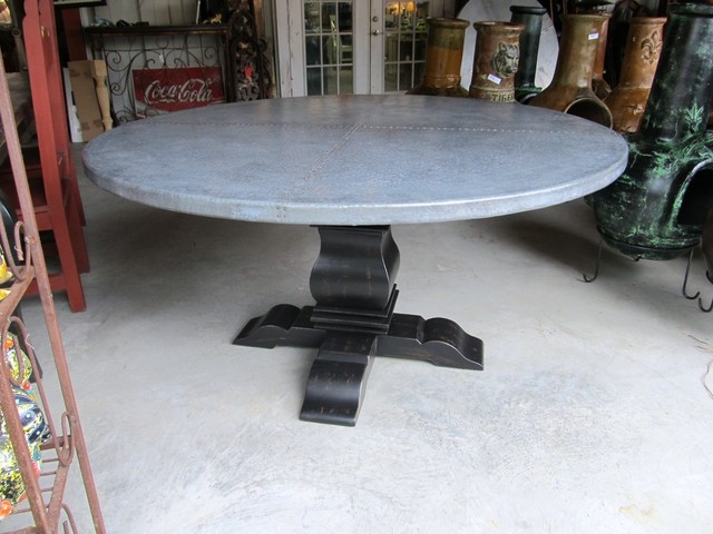 Zinc Table By Barrio Antiguo In Houston