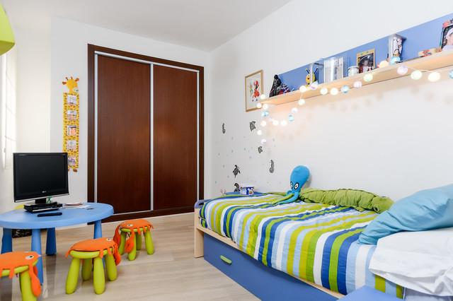 Apartamento en playa del cura n rdico dormitorio for Dormitorio infantil nordico