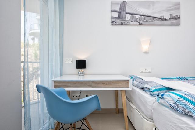 Apartamento moderno decorado por bo concept n rdico for Dormitorio infantil nordico