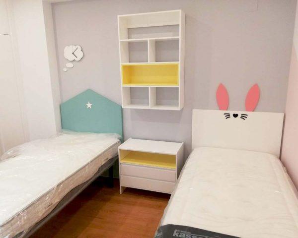 Cama nido con cajones cl sico renovado dormitorio - Habitaciones infantiles cama nido ...