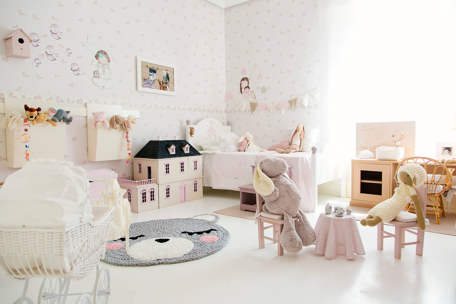 75 Beautiful Kids Room Pictures Ideas Style Shabby Chic Style July 2021 Houzz