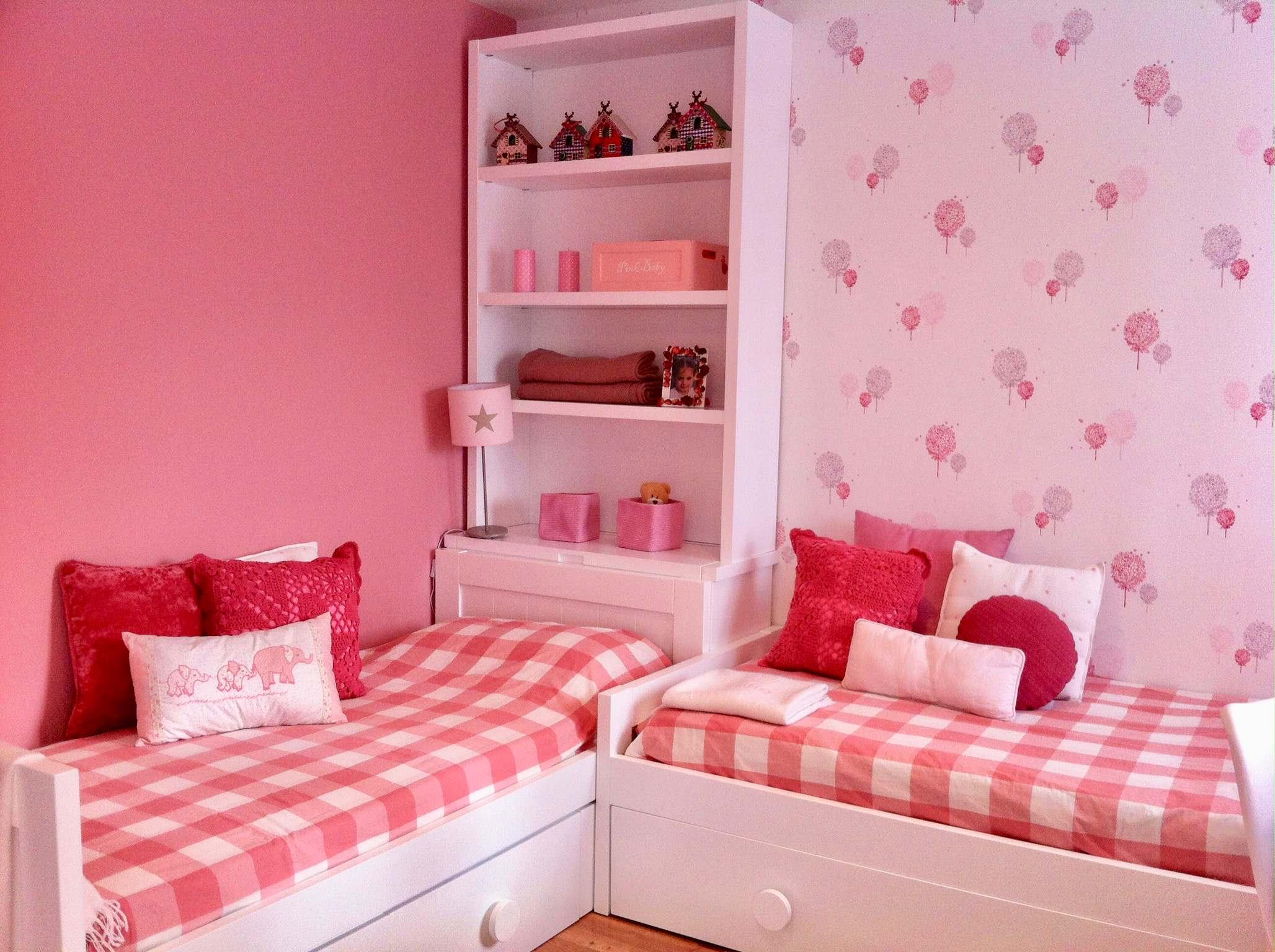Dormitorio infantil para dos niñas