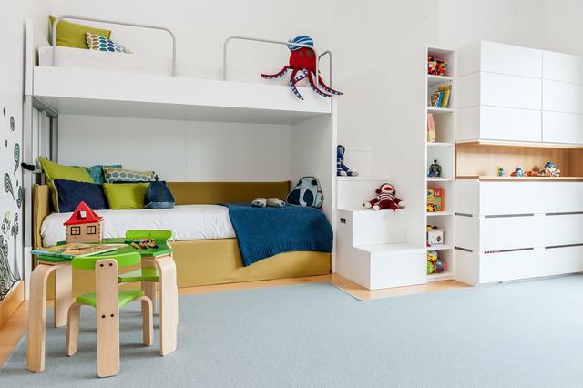 Habitación infantil y cuarto de juegos.
