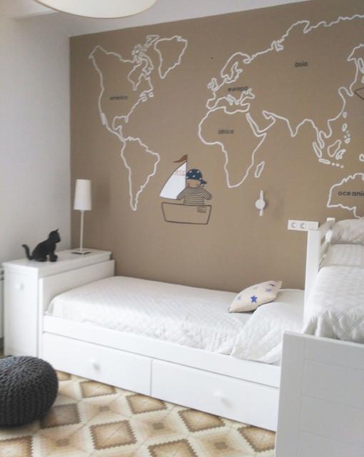 Habitaciones infantiles con murales contempor neo - Habitaciones infantiles barcelona ...