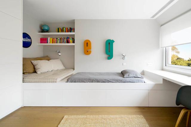 Reforma de vivienda en la bonanova barcelona n rdico - Dormitorios infantiles barcelona ...