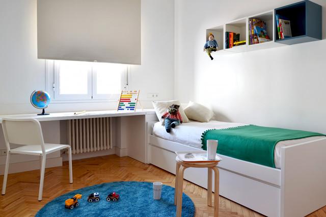 Vivienda en el barrio de salamanca 28001 madrid for Dormitorio infantil nordico