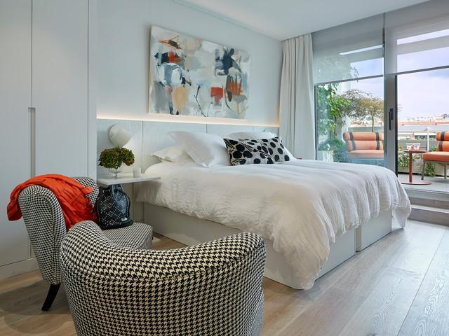 Atico San Gregorio Contemporary Bedroom Barcelona