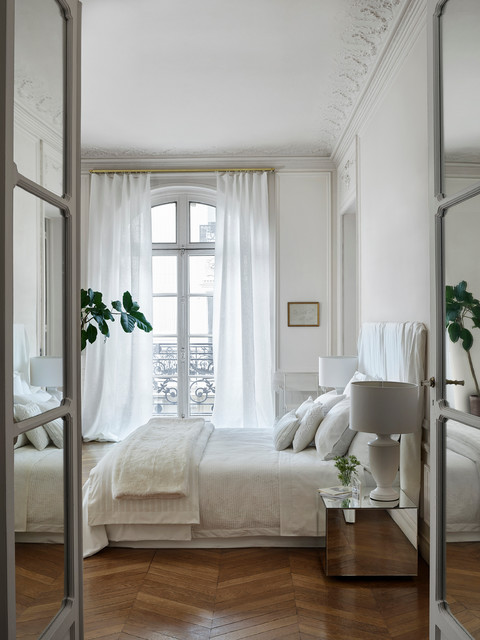 Campa A Aw16 Edit1 Pure White Transitional Bedroom Other By Zara Home
