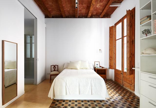 Casa modernista interior n rdico contempor neo - Houzz dormitorios ...