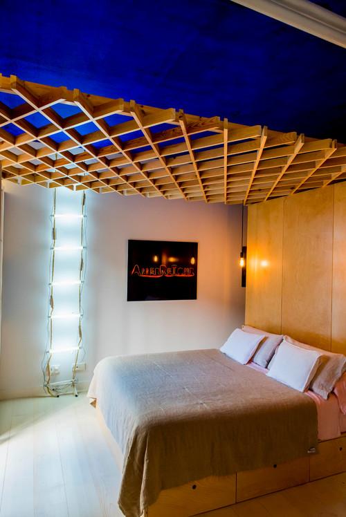 dormitorio en piso de madrid de rocio bardin en diariodesign