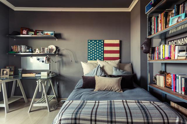 Habitaciones juveniles for Muebles industriales madrid