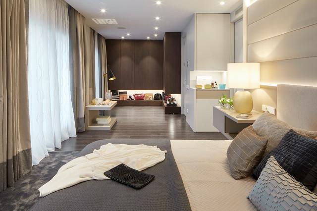 MASAN HOUSE moderno-dormitorio