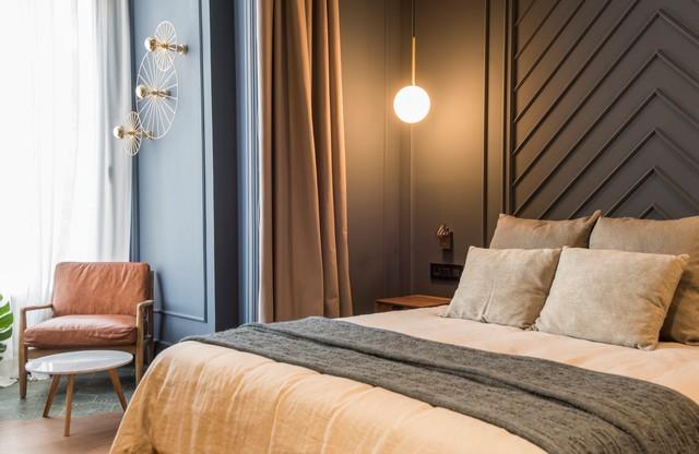 Vivienda Eixample contemporaneo-dormitorio