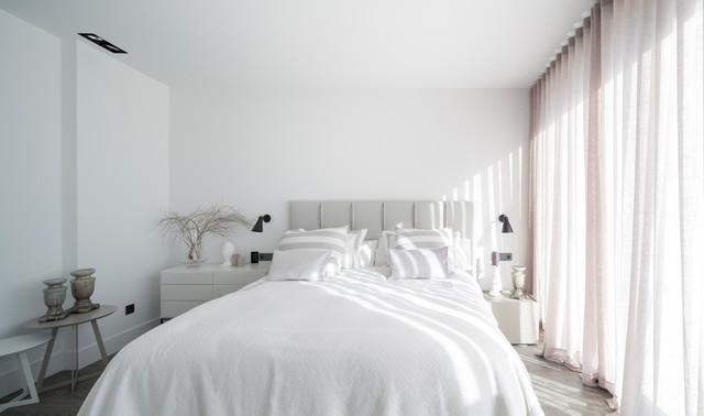 Vivienda en Ibiza moderno-dormitorio