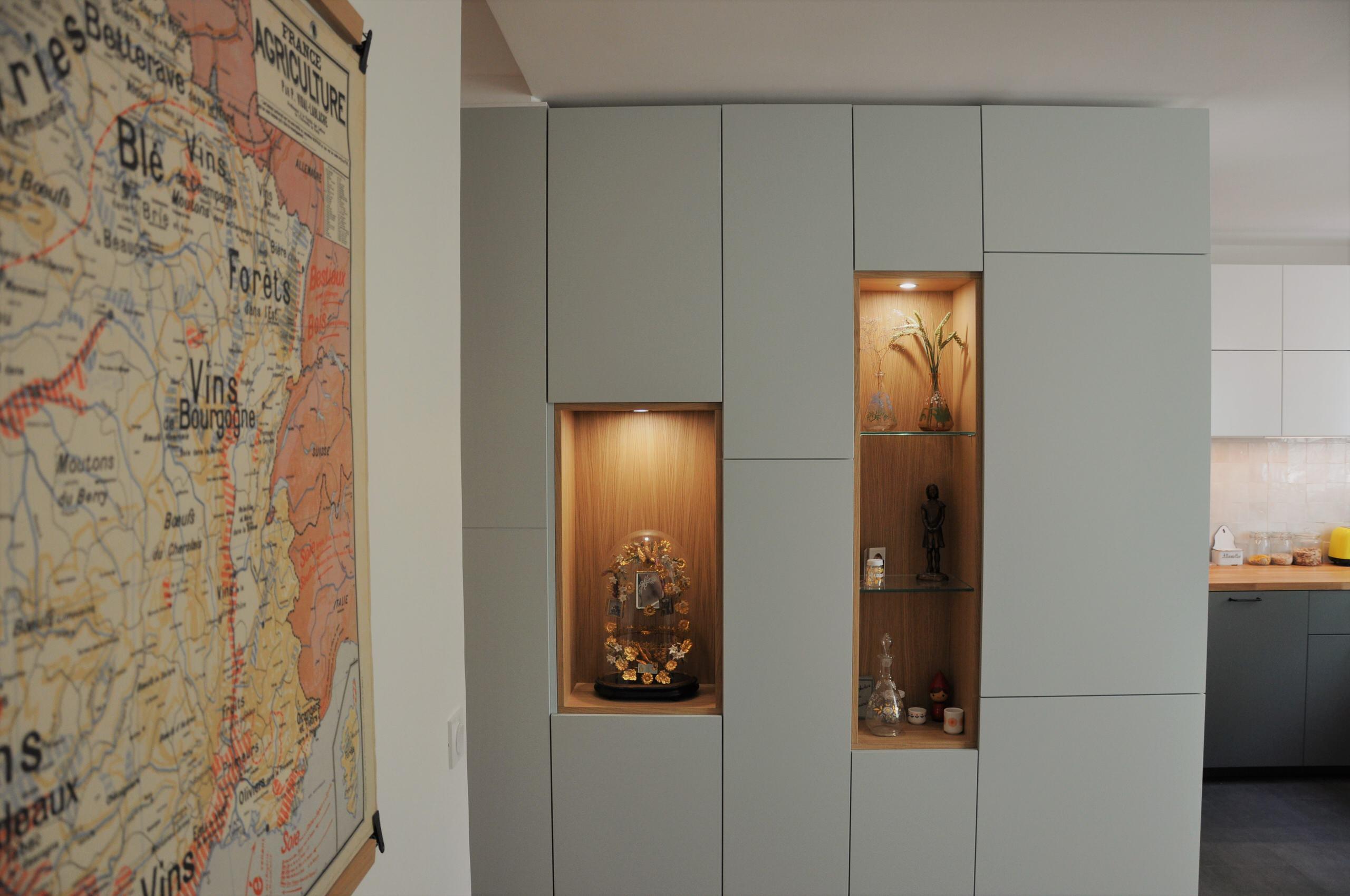 Aménagement intérieur sur-mesure - La Maison France 5