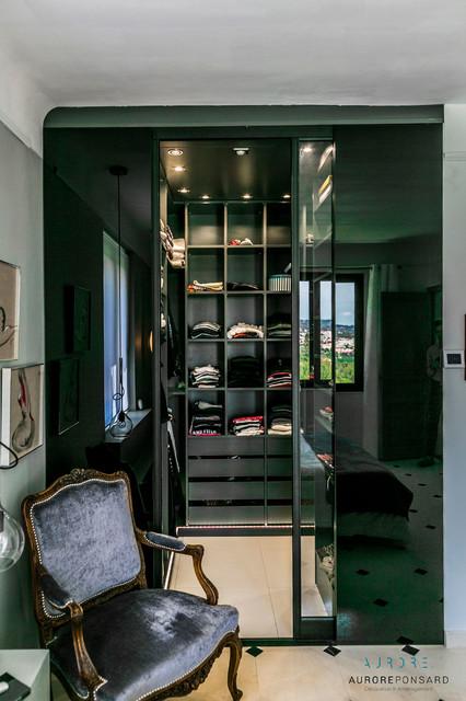 dcoration intrieur maison de matre contemporain armoire et dressing
