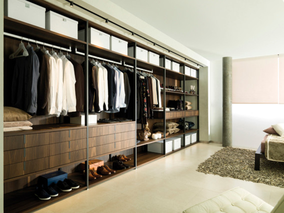 dressing contemporain armoire et dressing paris par porcelanosa groupe. Black Bedroom Furniture Sets. Home Design Ideas