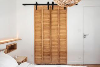 Ankleidezimmer mit Lamellenschränken Ideen, Design & Bilder ...