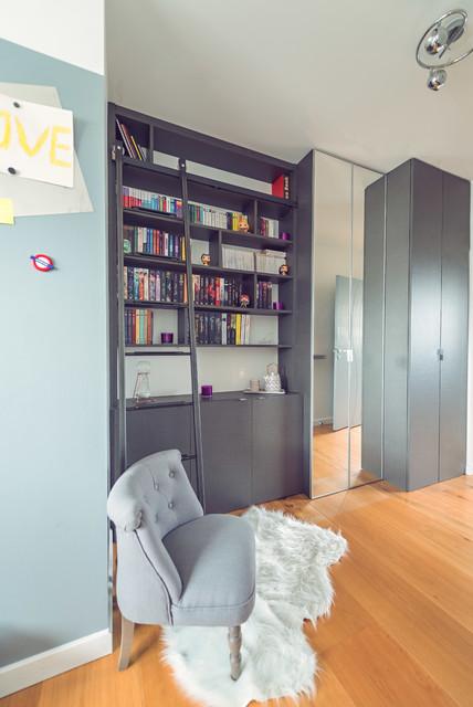 Projet F&KB / Aménagement d\'un placard/bibliothèque pour ...