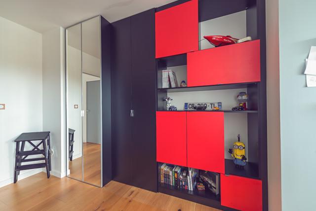 Projet F&KB / Aménagement d\'un placard/niches pour chambre ...