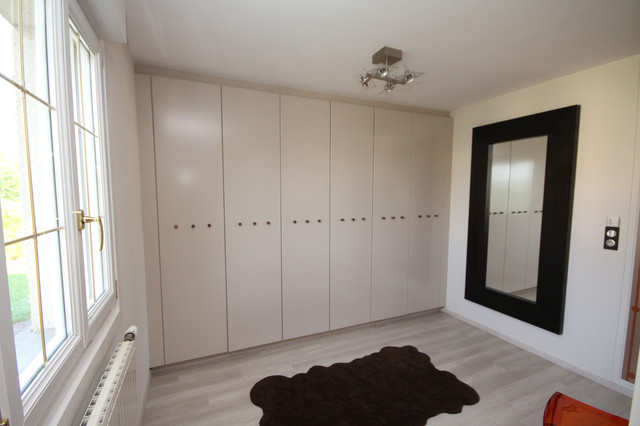 Suite parentale avec dressing moderne armoire et for Suite parentale dressing