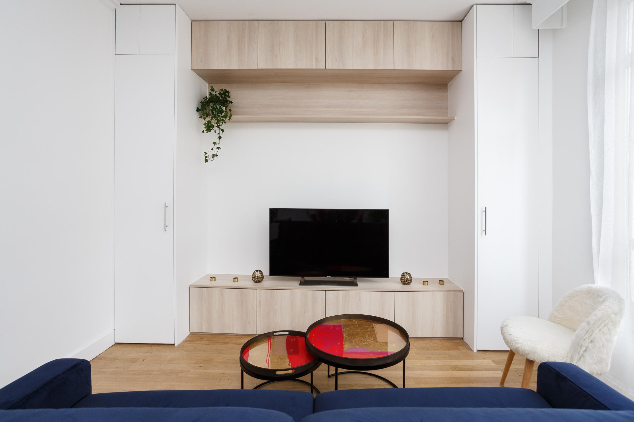 Un salon au design minimaliste
