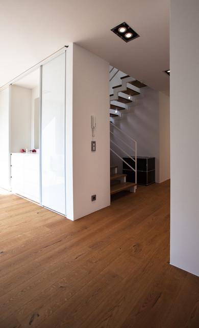 einfamilienhaus zi12 contemporary entry stuttgart by schiller architektur bda. Black Bedroom Furniture Sets. Home Design Ideas