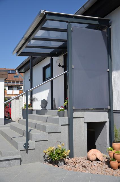 Vordach modern