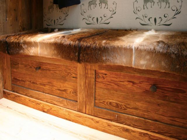 garderobe rustikal eingang m nchen von. Black Bedroom Furniture Sets. Home Design Ideas