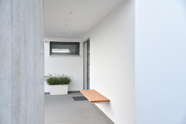 Herrmann Massivholzhaus massivholzhaus modern eingang sonstige herrmann