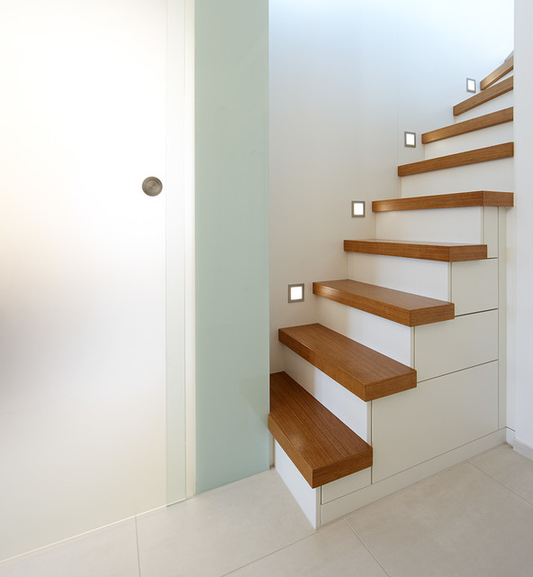 Treppe Mit Schubladen