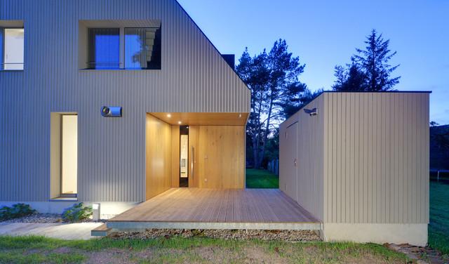 verandahaus mit boddenblick modern eingang berlin von m hring architekten. Black Bedroom Furniture Sets. Home Design Ideas