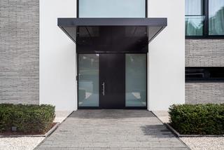 villa c modern eingang k ln von. Black Bedroom Furniture Sets. Home Design Ideas