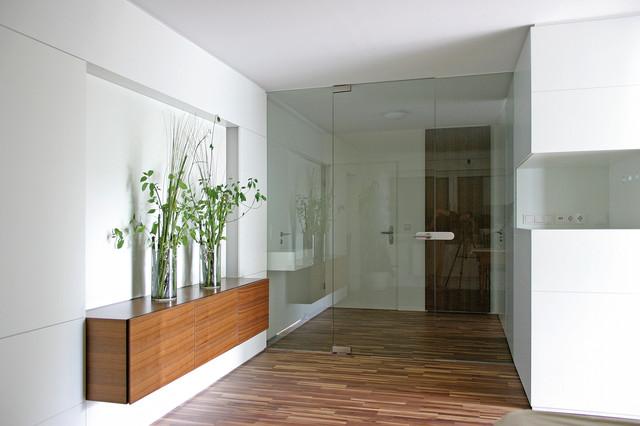 Wohnhaus modern-eingang