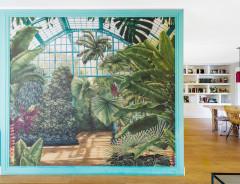 Casas Houzz: Luz y colores alegres en chalé con jardín en Madrid
