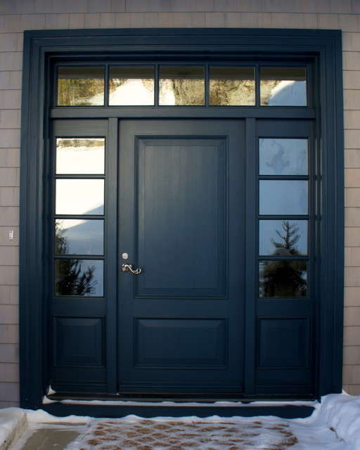 Cape Cod Front Door Craftsman Entry Montreal By