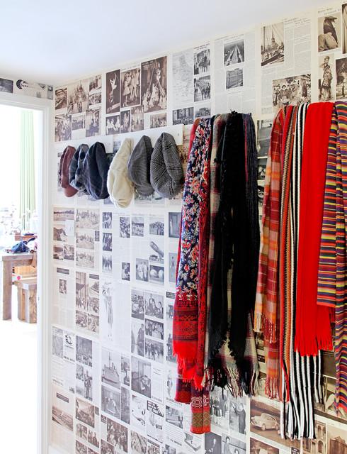Avocado Sweets Design Studio Interior Designers & Decorators. Eclectic  Stoke Newington Apartment eclectic-entry