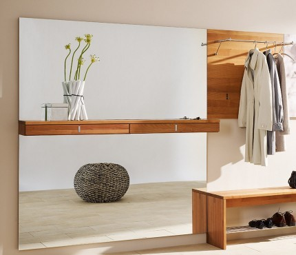 Hallway ideas - storage, hanging areas and shoe space - Modern - Entry - London - by Wharfside