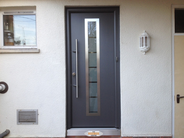 Hormann ThermoPro 700 Entrance Door Contemporary Entry