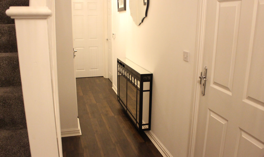 Mirrored Radiator Covers In Art Deco Style Contemporary Entry London By Couture Cases Ltd