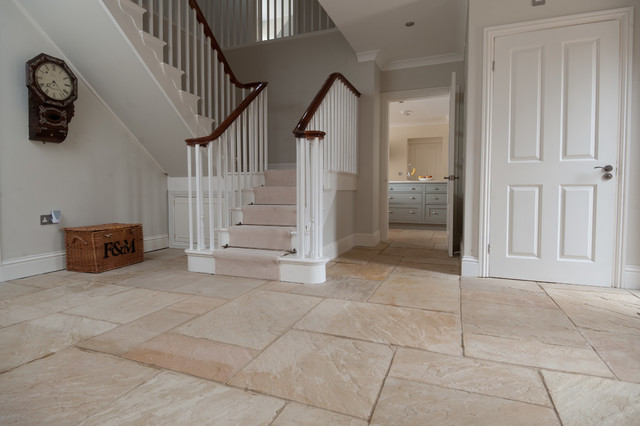 Stone Flooring Tiles Country Entrance Oxfordshire By