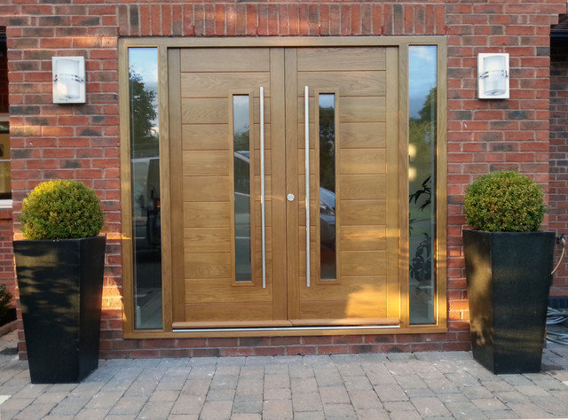 Timber door ideas modern entry other metro by for French doors main entrance